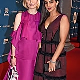 Jodie Whittaker and Mandip Gill