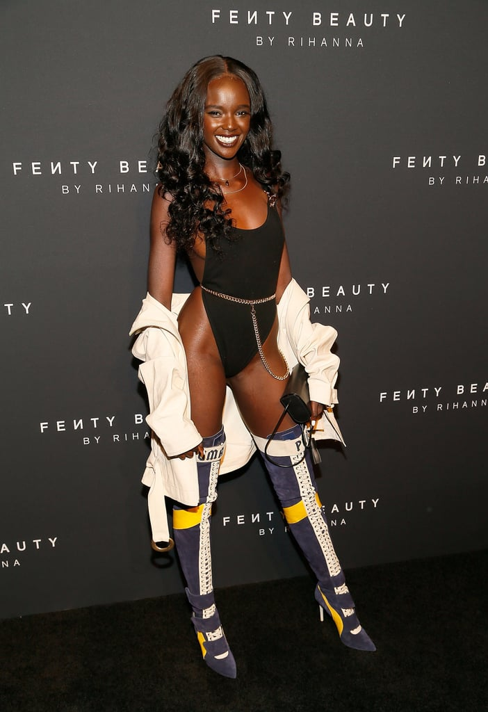 Duckie Thot at Fashion Week Catwalk Moments 2017