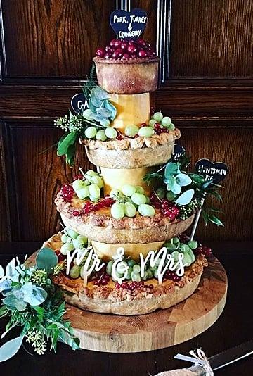Pork Pie Wedding Cakes