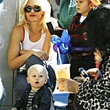 Photos of Gwen and Fam