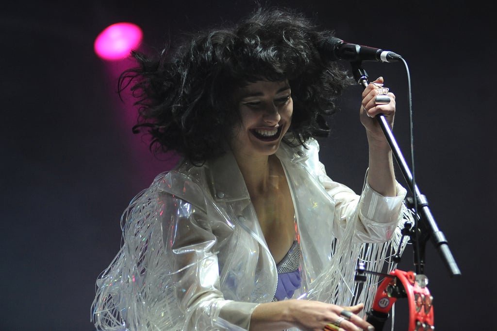 Kimbra on stage