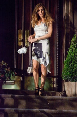 Glam Rockin' Looks From Sex and the City 2