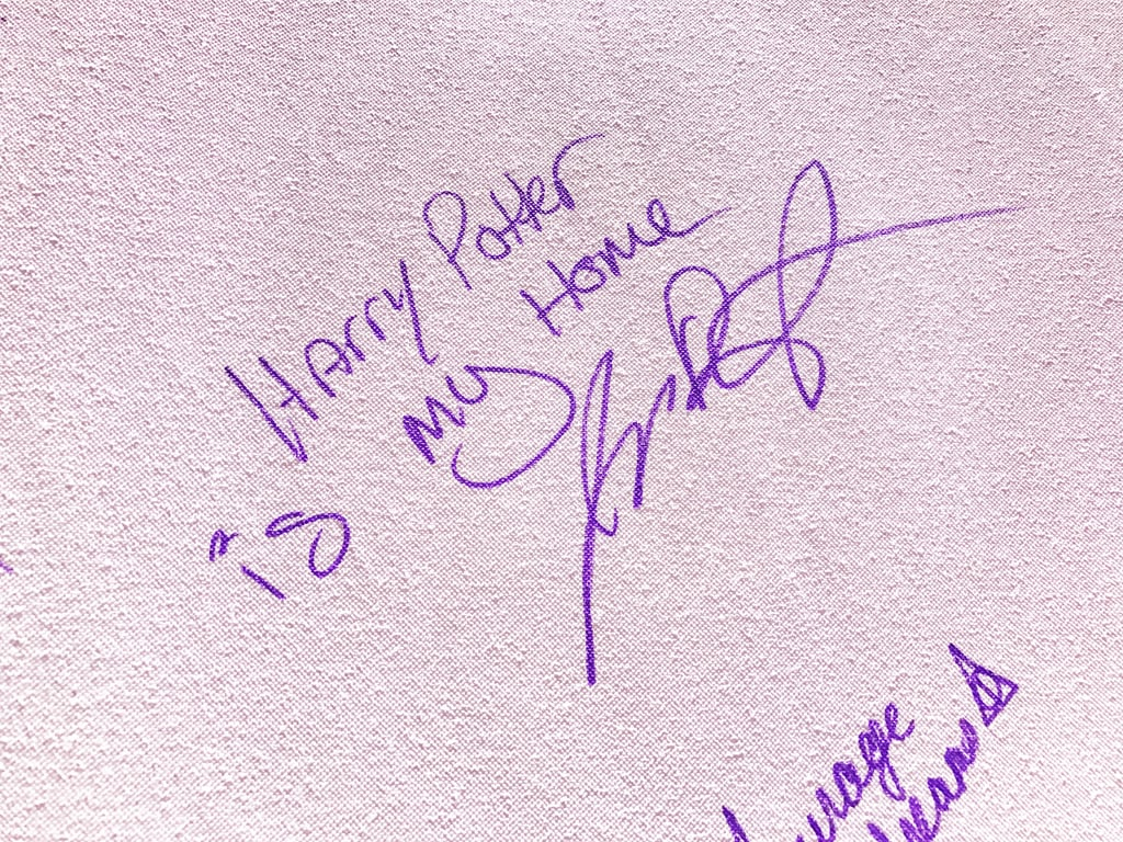 """""""Harry Potter is my home."""""""