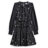 Mix Print Mini Dress
