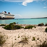 Castaway Cay has its own place for Disney cruise ships to dock.