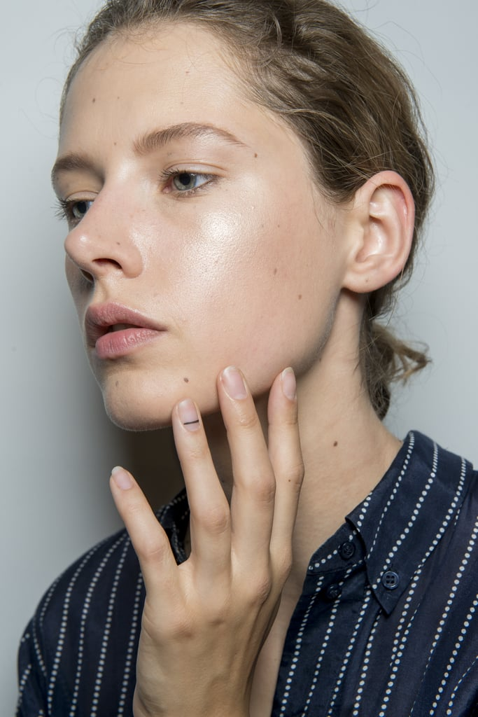 Accent Stripes on Nails at 3.1 Phillip Lim NYFW Spring 2018