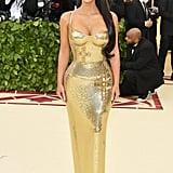 When Kim Kardashian Was a Golden Goddess