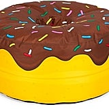 Donut With Chocolate Frosting Beanbag Chair