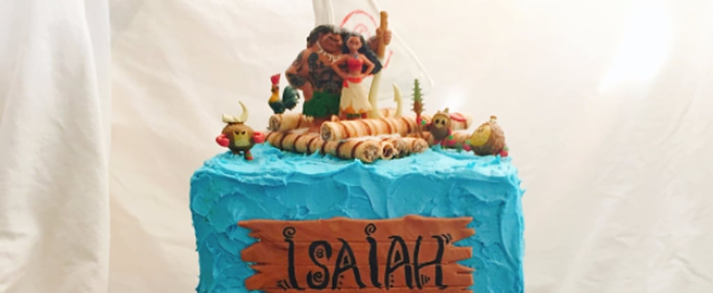 25+ Moana Birthday Cakes More Gorgeous Than the Ocean Beyond the Reef