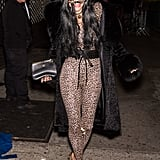 Bethenny Frankel as a Leopard