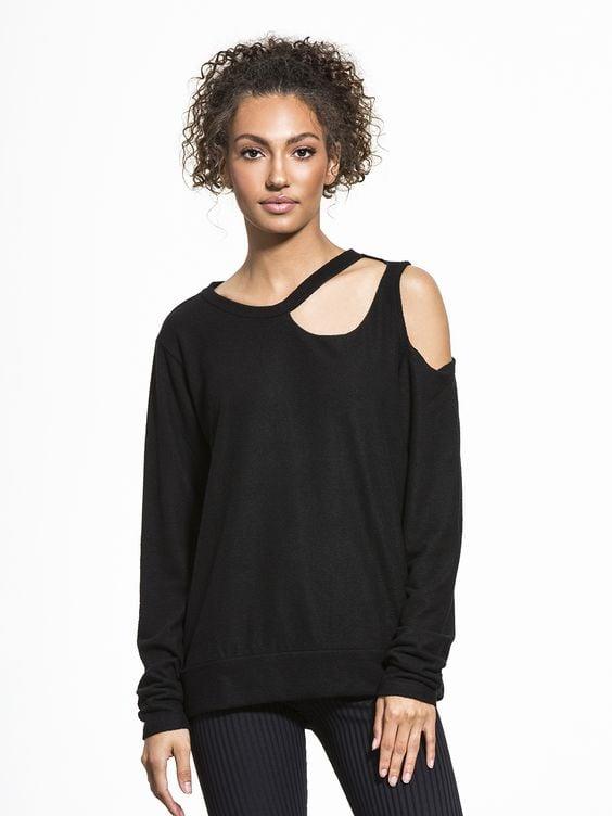 LNA Double Slash Sweater ($121)