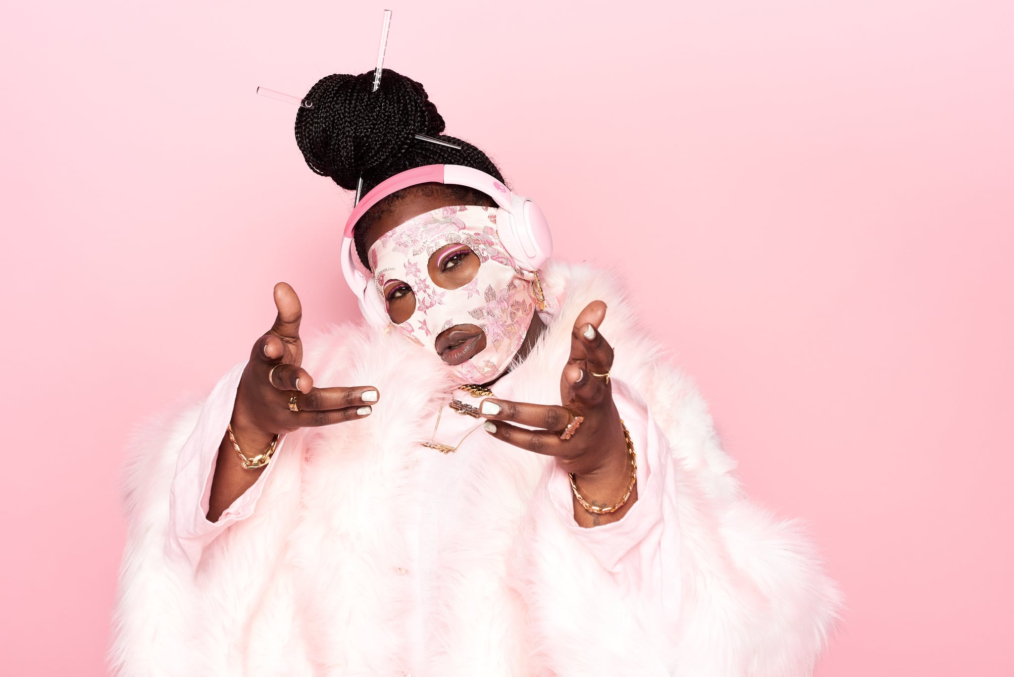 "Behind the Mask: Leikeli47 Is Just Striving to Be the ""Greatest Version"" of Herself"
