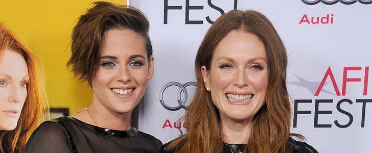 Kristen Stewart Gets Glam and Gushes About Julianne Moore