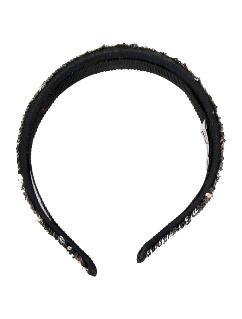 Miu Miu Sequined Woven Headband