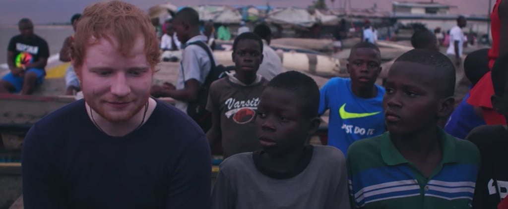 What Ed Sheeran Did For a Young Boy in Liberia Will Bring You to Tears