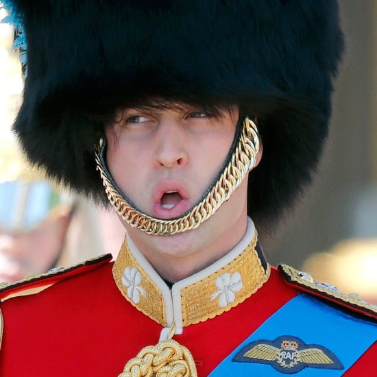 Prince William's Funny Faces