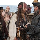 Pirates of the Caribbean: On Stranger Tides Photos With Johnny Depp and Penelope Cruz 2010-12-09 08:47:42