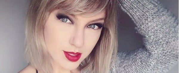 1 Taylor Swift Megafan Copied Her Hair and Makeup — and It's Insanely Similar