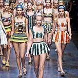 Dolce & Gabbana Spring 2013
