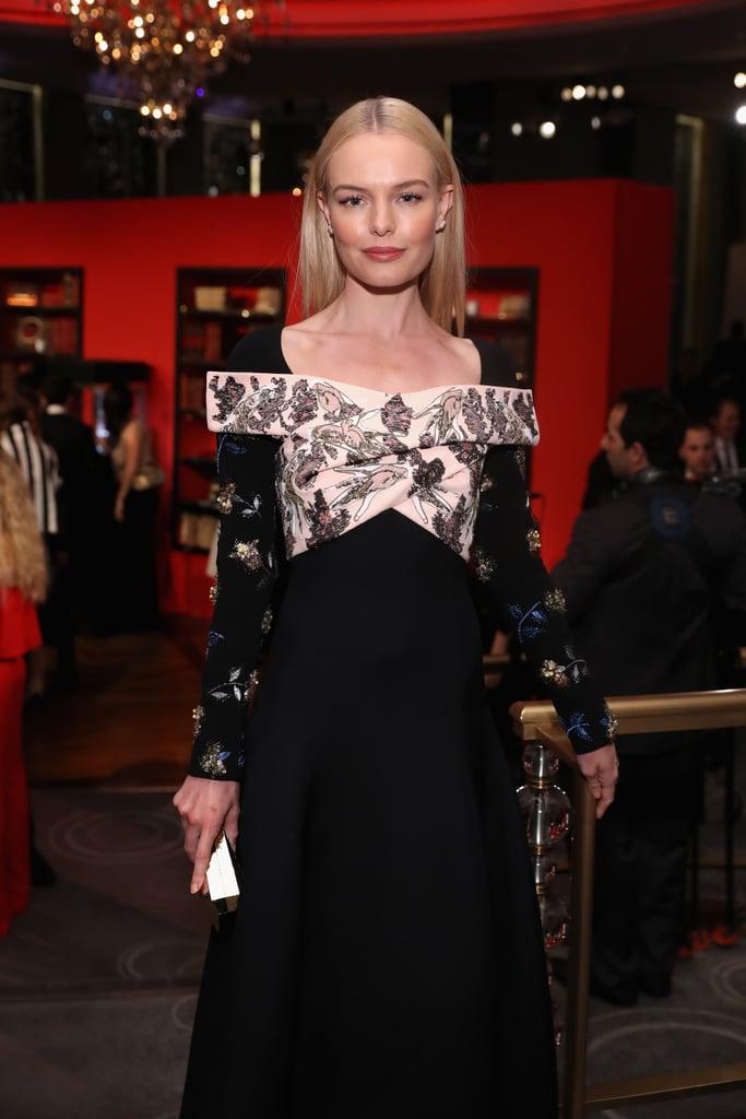 5d380d46d544 Kate Bosworth s Dior Dress at Montblanc Dinner 2016