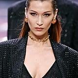 Bella Hadid Walking the Versace Runway at Milan Men's Fashion Week Spring/Summer 2020