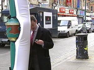 Have You Ever Had a Walking-While-Texting Incident?