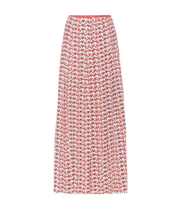Tory Burch Printed Maxi Skirt