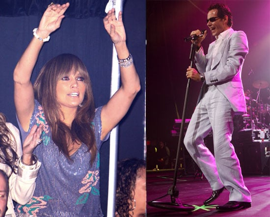 Photos of Jennifer Lopez at Marc Anthony Concert in Florida