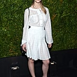 Anya Taylor-Joy at a Chanel Dinner in 2015