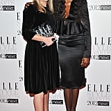 Naomi Campbell and Sarah Burton