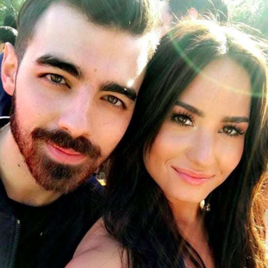 Joe Jonas and Demi Lovato Selfie on Instagram Feb. 2017