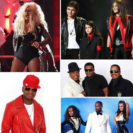 Michael Jackson Forever Tribute Concert Pictures of Christina Aguilera, Paris Jackson, Cee Lo Green, Ne-Yo