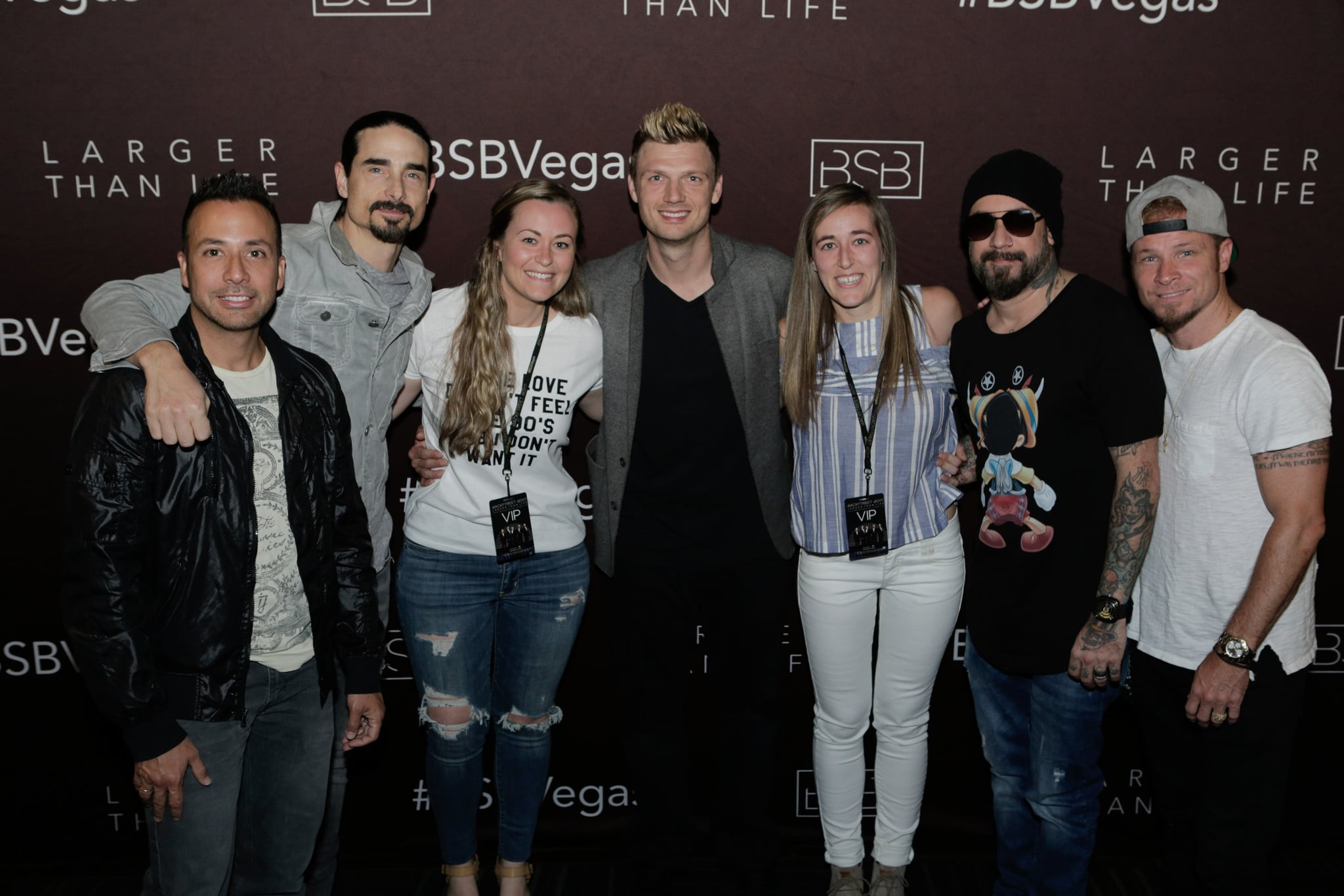 What Is It Like To Meet The Backstreet Boys Popsugar Celebrity