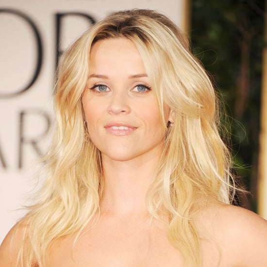 Reese Witherspoon's 2012 Golden Globes Hair and Makeup Look