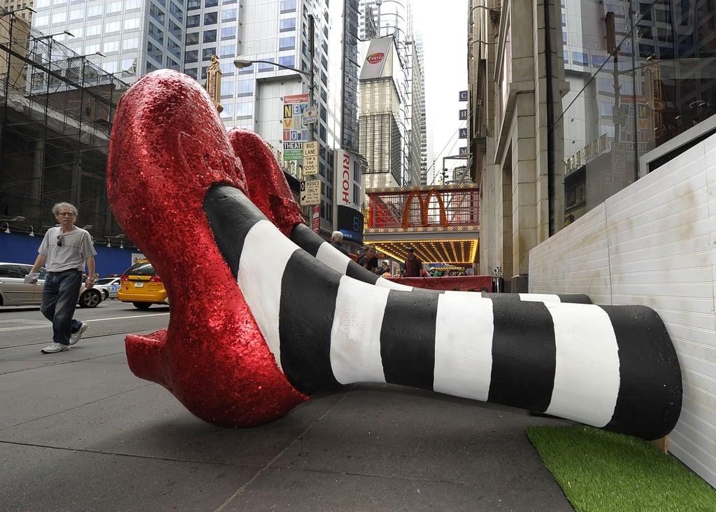 Pictures of Madame Tussauds Wizard of Oz Exhibit