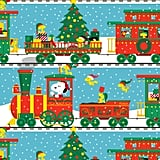 Peanuts Snoopy Train Jumbo Christmas Wrapping Paper Roll