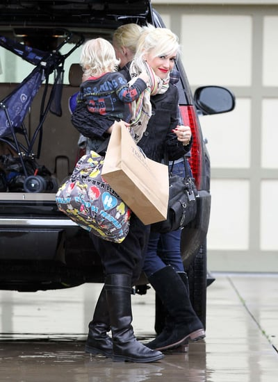 Pictures of Gwen Stefani and Gavin Rossdale With Kingston and Zuma in LA