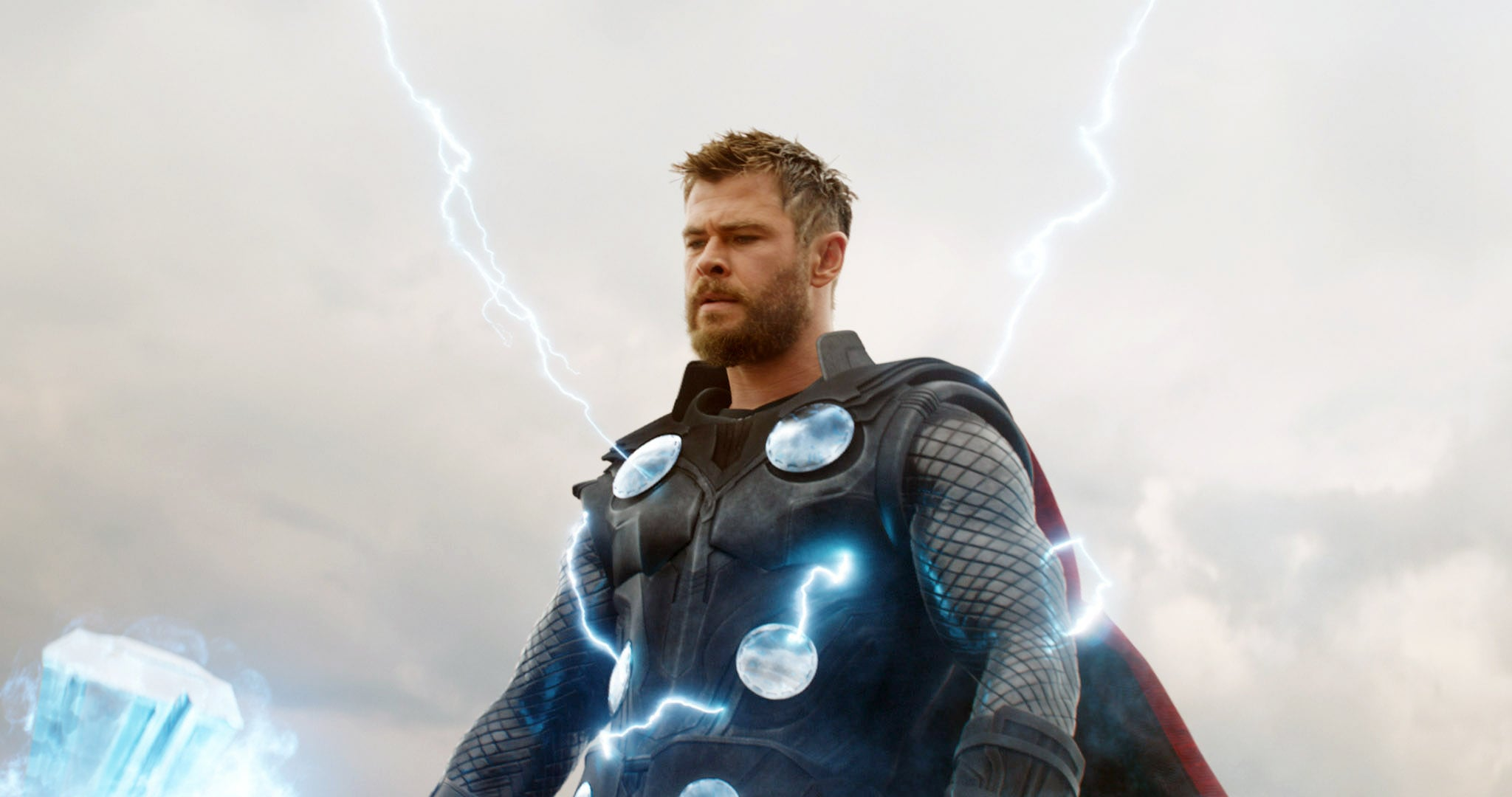 AVENGERS: ENDGAME, (aka AVENGERS 4), Chris Hemsworth as Thor, 2019.  Walt Disney Studios Motion Pictures /  Marvel Studios / courtesy Everett Collection