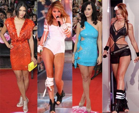 Fotos von den MuchMusic Awards 2010 mit Miley Cyrus, Katy Perry, Twilight Eclipse Ashley Greene, Kellan Lutz, Liste der Gewinner