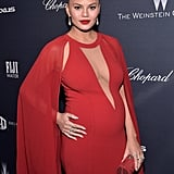 Chrissy Teigen Just Set the Red Carpet on Fire