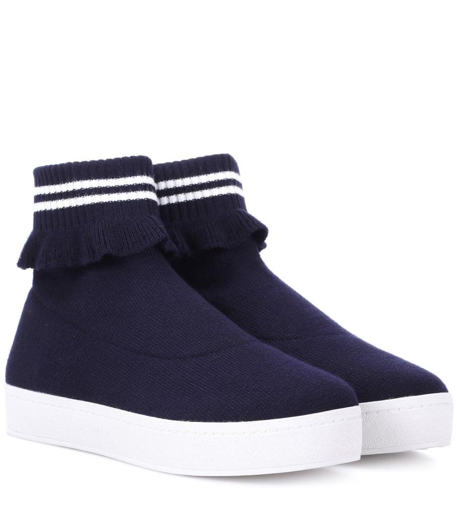 Gwyneth Paltrow In Balenciaga Sock Sneakers Popsugar