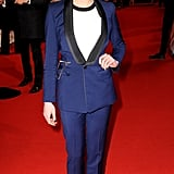Suited and booted, Maisie was easily best dressed at the National Television Awards.