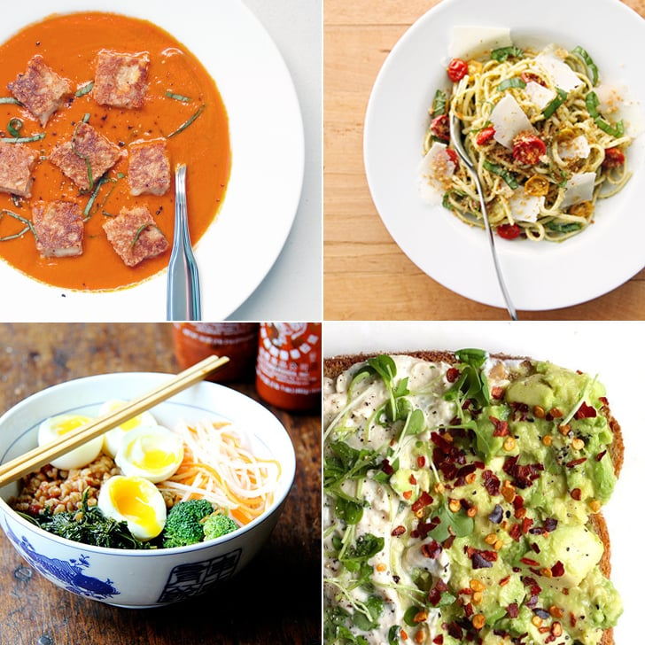 fast and easy vegetarian dinners popsugar food