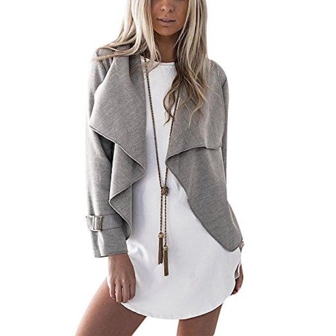 Gamery Woolen Short Lapel Jacket