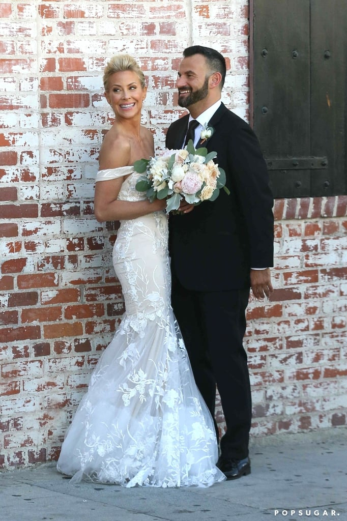 "Brittany Daniel is married! The Sweet Valley High alum and her boyfriend, Adam Touni, tied the knot during an urban-chic celebration in LA on Saturday. ""We are overwhelmed by the outpouring of love and affection shared by our friends and family on this special day,"" the couple said in a statement to People. ""We are so grateful to have this kind of support as we start this journey together."" The duo said ""I do"" in front of 150 of their closest family and friends, including her cast mates from BET's The Game. While the groom wore a classic black tux for the occasion, Brittany wowed in a custom-made Trish Peng gown. Aside from looking absolutely blissful as the couple posed for photos, the bride also shared a special moment with her twin sister, Cynthia Daniel Hauser, who served as maid of honor. Congrats to the happy pair!       Related:                                                                                                           Wedding Bells: All the Celebrity Couples Who've Said ""I Do"" This Year"