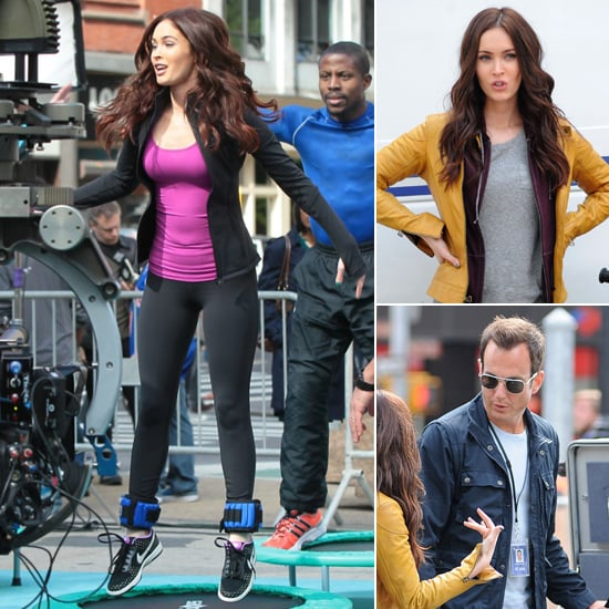 Megan Fox Jumps Into Action For Teenage Mutant Ninja Turtles