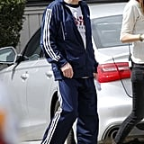 Robert De Niro kept it casual while filming Grudge Match in New Orleans on Monday.