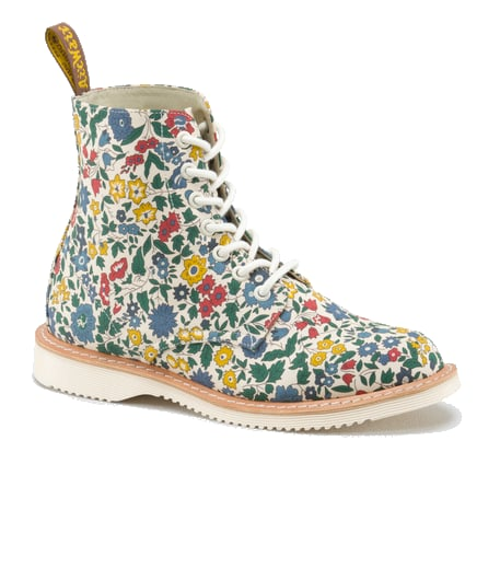 Liberty of London is world renowned for its floral prints and the brand recently teamed up with another UK favorite, Dr. Martens, for a cool shoe collaboration. Dr. Martens X Liberty London Floral Boots ($170)