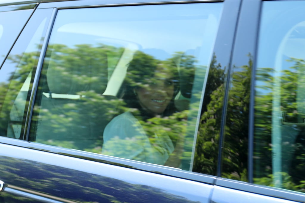 Prince Harry and Meghan Markle were spotted arriving at Windsor Castle on Thursday, just days before the couple is set to tie the knot at St George's Chapel on May 19. Prince William and Kate Middleton also arrived for what appeared to be a dress rehearsal for Harry and Meghan's big day. The photos came just hours after Meghan released a statement confirming that her father, Thomas Markle, would not be attending the wedding due to health concerns.  Earlier in the week, Thomas told TMZ that he was undergoing heart surgery. Many are speculating that Meghan's mom, Doria Ragland, who was not spotted at the presumed rehearsal, will walk her daughter down the aisle in Thomas's place. Keep up with all our coverage of the royal wedding here.      Related:                                                                                                           Grab a Crumpet and a Cup of Tea — Here's Where to Watch the Royal Wedding!
