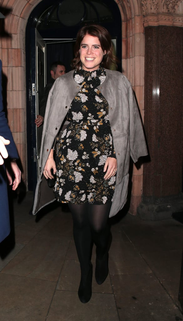 Princess Eugenie Floral Dress at Engagement Dinner